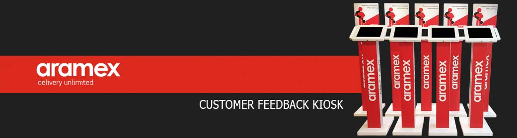 Aramex-Customer-Feedback-Interactive-Kiosks
