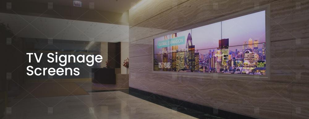 TV Signage Screens