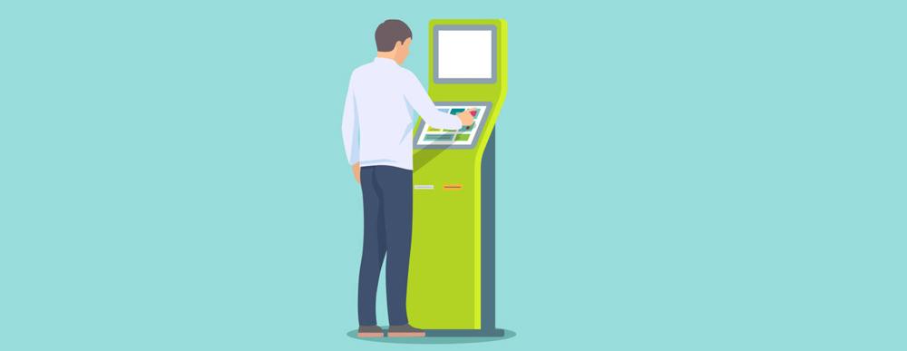 Offer Self Service Interactive Kiosk