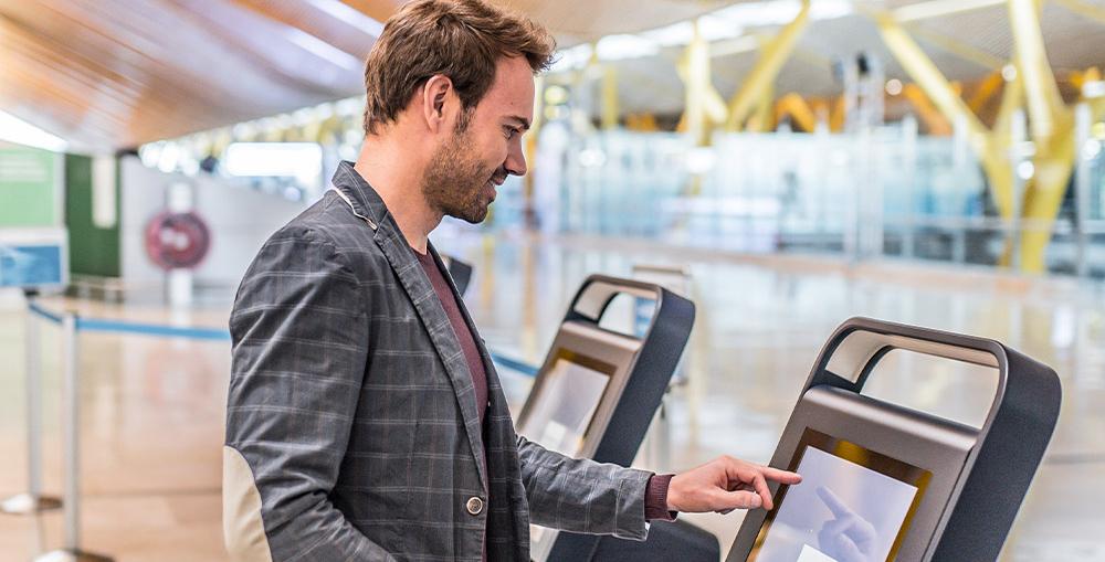 Self-Service Sign-Up Interactive Kiosks
