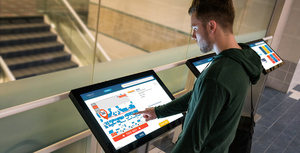 Specifications of Wayfinding Kiosks