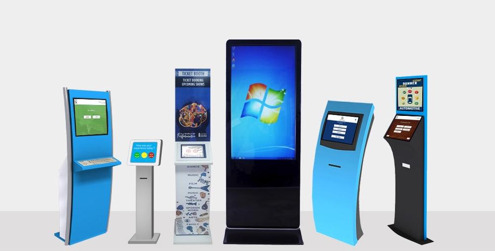 Advantages of Self-Service Digital Signage Kiosk