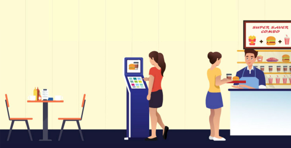 Self Service Kiosk for Retail Sector